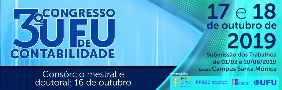 3o Congresso UFU de Contabilidade