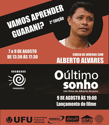 2ª edição do Curso: Vamos Aprender Guarani? e lançamento do filme