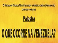 o que ocorre na venezuela?