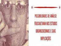colóquio foucault estudos organizacionais